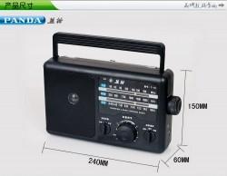 ĐÀI RADIO FM PANDA T-16 ( có cắm điện nguồn)