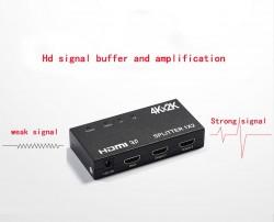 BỘ CHIA HDMI ĐỘ PHÂN GIẢI CAO 2 CỔNG (1IN 2OUT) 4K 3D 1080P