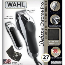 TÔNG ĐƠ WAHL MỸ 79524-1001 ( Wahl Deluxe Chrome Pro 25 pc)