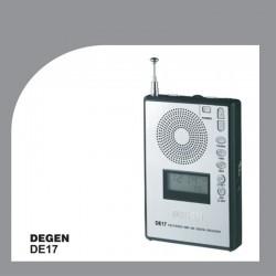 ĐÀI RADIO FM KỸ THUẬT SỐ MINI DEGEN DE-17 ( digital tuning)