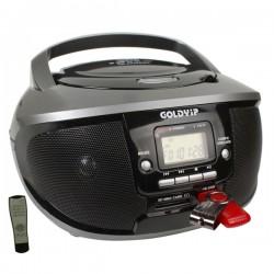 ĐÀI ĐĨA CD RADIO CASSETTE GOLDYIP CD-9261MUC