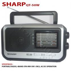 ĐÀI RADIO SHARP QT-50W