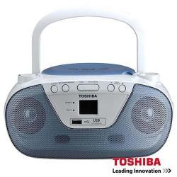 ĐÀI ĐĨA CD RADIO CASSETE TOSHIBA TY-CRU8 ( usb)