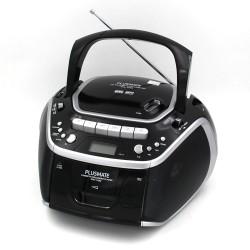 ĐÀI ĐĨA CD RADIO CASSETE Plusmate PM-1100 (usb)