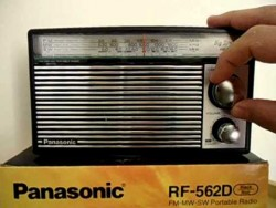 ĐÀI RADIO PANASONIC RF-562D ( AM/ FM/ SW)