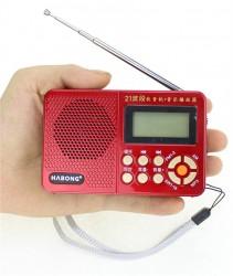 ĐÀI RADIO AM/FM/SW/USB  NGHE NHẠC HABONG KK-F166 NHỎ GỌN
