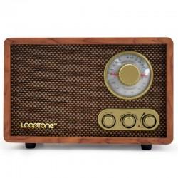 ĐÀI RADIO AM/ FM ĐẶT BÀN VỎ GỖ CỔ ĐIỂN NEW DSY-R08 BLUETOOTH