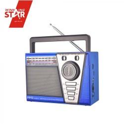 ĐÀI RADIO USB/MP3 3 băng tần AM/FM/SW PPO P-037