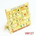 Bảng tập đánh vần & học số Veesano VM127