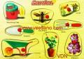 Bảng xếp hình_Làm vườn VDN01