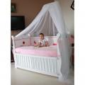 Giường cũi trẻ em đa năng Suri 3 trong 1, hàng xuất khẩu