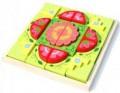 Bộ xếp hình bông hoa VM222B