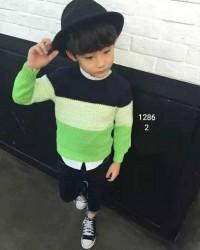 1129.  Áo len Mayboy Hàn Quốc bé trai các màu - 149alf