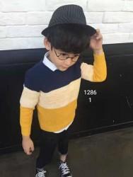 1130.  Áo len Mayboy Hàn Quốc bé trai  - 149alf