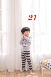 1241. Bộ Hàn Quốc BT BG các màu size trung - 543bpg