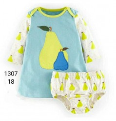 1352.  Váy Little Maven bé gái các màu - 475vag