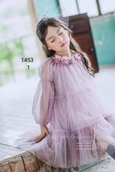 1540. Váy voan Hàn Quốc BG - 215vak