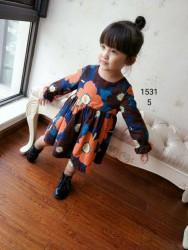 1531. Váy thô, dạ  mỏng Minipoppy hoa - 266vak