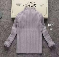 1890. Áo len sọc tăm  bé gái - 508alk