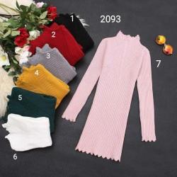 2093. Váy len hàn Quốc size đại