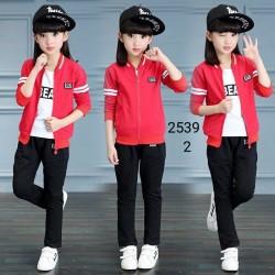 2539 Bộ nỉ Hàn Quốc 3 chi tiết 844bpk