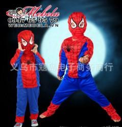 BT117 Bộ siêu nhân cơ bắp người nhện cho bé