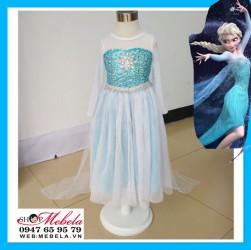 V754 Váy công chúa Elsa cho bé 14-27kg