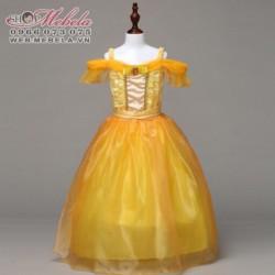 V778 Váy Disney Người đẹp và quái vật size 15kg trở lên
