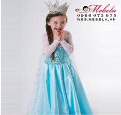 V779 Váy công chúa Elsa Frozen cho bé