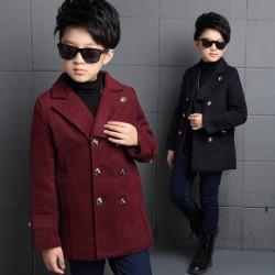 KT136 Áo vest dạ 6 khuy cho bé trai 7-10 tuoi