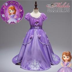 V780 Váy công chúa Sofia cho bé 4-13t ( 16 - 40kg cao 140cm)