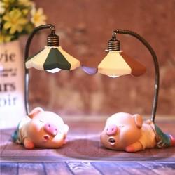 Q06 Quà tặng đèn ngủ hình heo ngủ