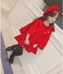 V781 Set 3 váy dạ kèm áo khoác và mũ nồi cho bé Set 3 váy dạ kèm áo khoác và mũ nồi cho bé