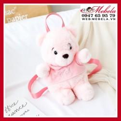 Balo gấu hồng dễ thương