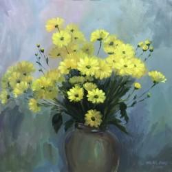 Tranh Cúc vàng - Đã bán