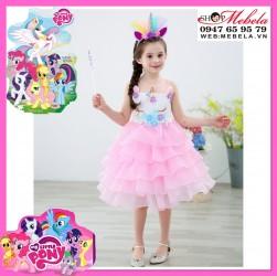 Váy kì lân Pony bé nhỏ cho bé 11-28kg