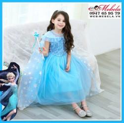 Váy công chúa Elsa cho bé 13-35kg