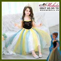 Váy công chúa Anna cho bé 14-35kg