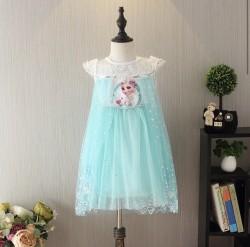 Váy công chúa Elsa cho bé