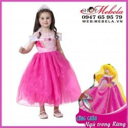 Váy công chúa ngủ trong rừng Aurora cho bé