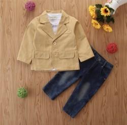 Bộ vest 3 món cho bé 2,3,4 tuổi