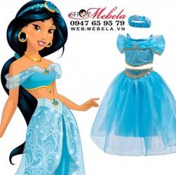 Bộ váy công chúa Jasmine - Aladdin và cây đèn thần