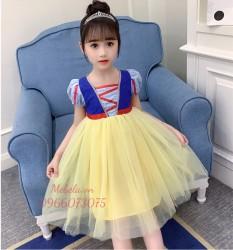 Váy công chúa Bạch Tuyết cho bé 12-27kg