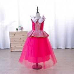 Váy đầm công chúa Aurora cho bé 20-23kg 123cm