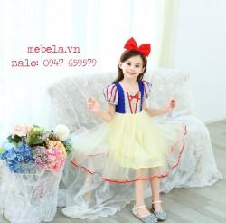 Váy đầm công chúa Bạch Tuyết cho bé 12-27kg