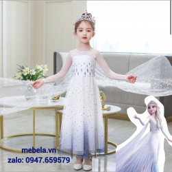 🎀 Váy công chúa Elsa Frozen 2 cho bé 13-28kg