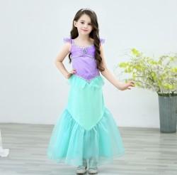 Váy công chúa Ariel nàng tiên cá cho bé 14-27kg