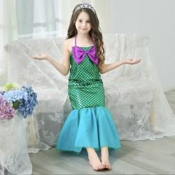 Váy nàng tiên cá Ariel cho bé 13-16kg