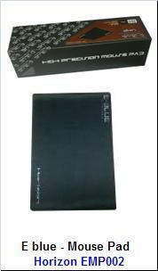 E blue - Mouse Pad Horizon: EMP002