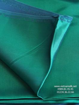 Lụa satin Vạn Phúc màu xanh lá đậm (VL.129)